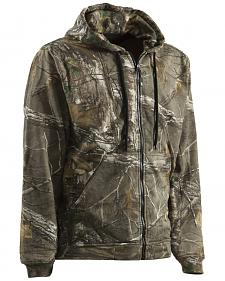 Berne Camouflage All Season Hooded Thermal Lined Sweatshirt