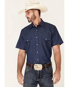 Wrangler Short Sleeve Work Shirt
