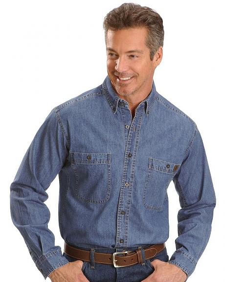 Wrangler Riggs Denim Work Shirt