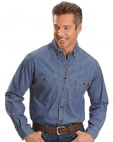 Wrangler Riggs Denim Shirt - Big, Tall, Big/Tall
