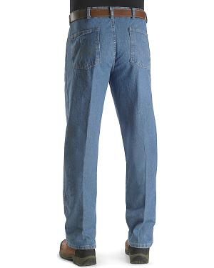 "Wrangler Jeans - Rugged Wear Relaxed Fit Angler Pants - Big 44"" to 60"" Waist"