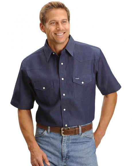 Wrangler Western Work Shirt - Big, Tall