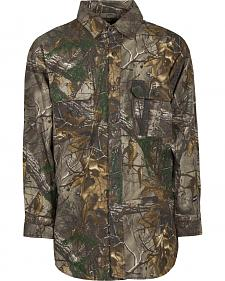 Berne Stalker Camo Button Down Shirt - Tall Sizes