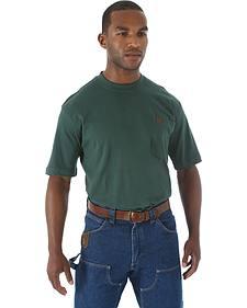 Wrangler Men's Riggs Short Sleeve Pocket T-Shirt