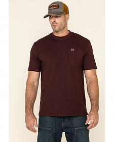 Wrangler Men's Riggs Short Sleeve Pocket T-Shirt