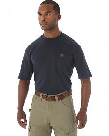 Wrangler Men's Riggs Short Sleeve Pocket T-Shirt - Big & Tall