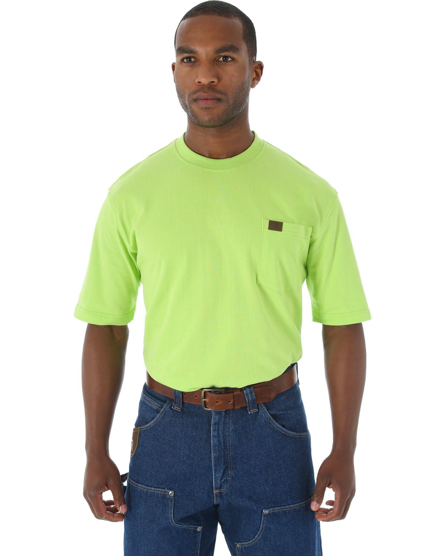 Wrangler Men 39 S Riggs Short Sleeve Pocket T Shirt Big And