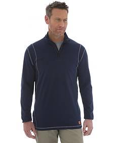 Wrangler 20X Flame Resistant Quarter-Zip Long Sleeve Pullover
