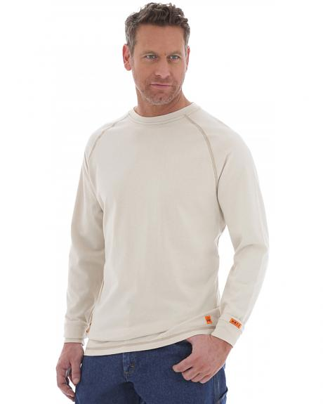 Wrangler 20X Flame Resistant Long Sleeve Crew Pullover