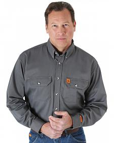 Wrangler Riggs Workwear Flame Resistant Long Sleeve Shirt