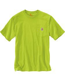 Carhartt Men's Short Sleeve Pocket Work T-Shirt