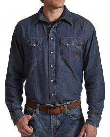 Ariat Flame Resistant Denim Snap Shirt