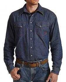 Ariat Flame Resistant Denim Snap Shirt  - Big and Tall