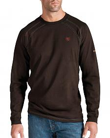 Ariat Flame Resistant Workwear Crew Long Sleeve T-Shirt - Big and Tall