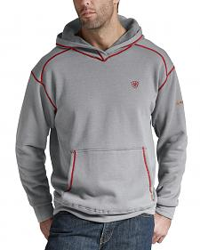 Ariat Flame Resistant Polartec Grey Hoodie - Big and Tall