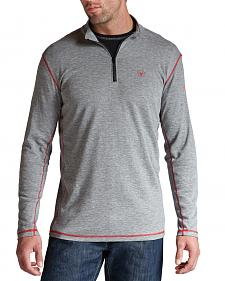 Ariat Flame Resistant Polartec 1/4 Zip Baselayer Shirt - Big and Tall