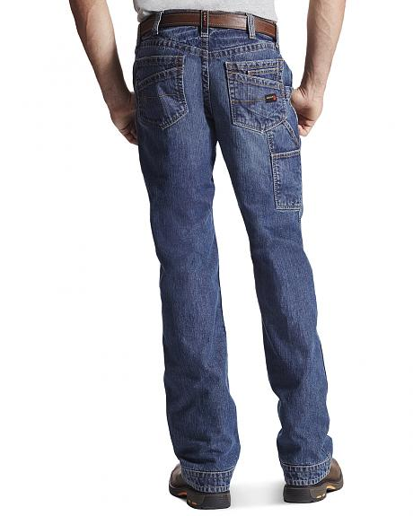 Ariat Men's Flame-Resistant M4 Workhorse Bootcut Work Jeans