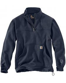 Carhartt Men's Rain Defender Paxton Quarter Zip Sweatshirt