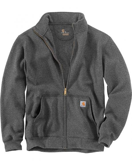 Carhartt Men's Haughton Mock Neck Zip Sweatshirt