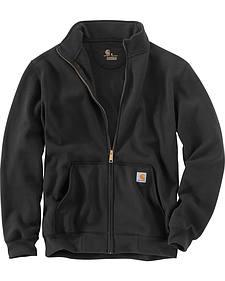 Carhartt Men's Haughton Mock Neck Zip Sweatshirt
