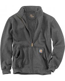 Carhartt Men's Haughton Mock Neck Zip Sweatshirt - Big and Tall