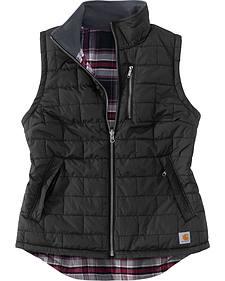 Carhartt Women's Black Amoret Quilted Vest