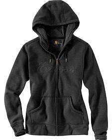 Carhartt Women's Clarksburg Zip Front Hooded Sweatshirt