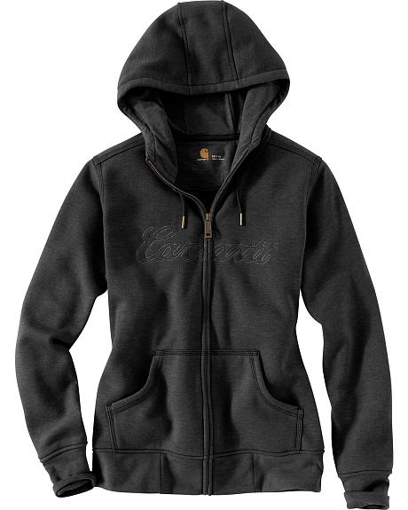Carhartt Women's Clarksburg Zip Front Hooded Sweatshirt