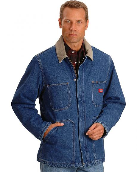 Dickies Stonewashed Denim Chore Jacket Sheplers