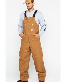 "Carhartt Zip-to-Waist Bib Overall - Reg, Big. Up to 50"" Waist"