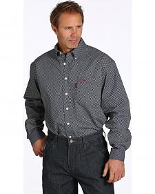 Cinch WRX Men's Black Print Flame-Resistant Shirt
