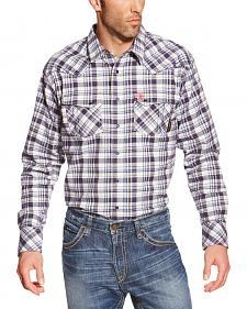 Ariat Men's Plaid Finley FR Snap Shirt