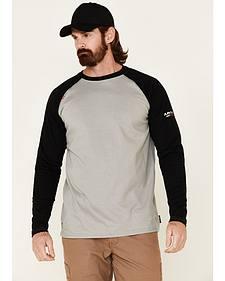 Ariat Men's FR Long Sleeve Baseball T-Shirt