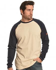 Ariat Men's FR Long Sleeve Baseball T-Shirt