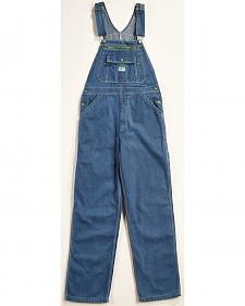 Liberty Stonewashed Denim Bib Overalls