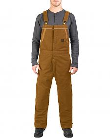 Walls Men's Brown Frost Blizzard Pruf Insulated Bib Overalls - Big & Tall