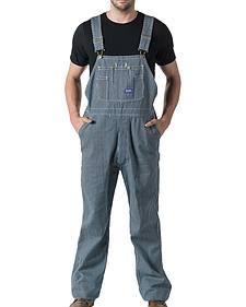 Walls Big Smith Men's Hickory Stripe Bib Overall