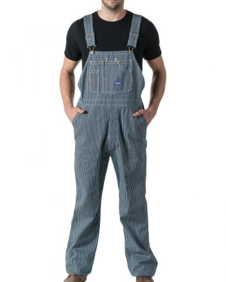 Walls Big Smith Men's Hickory Stripe Bib Overall - Big and Tall