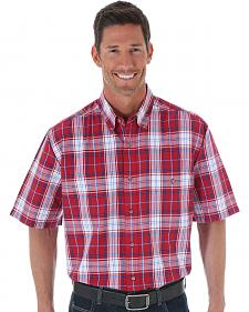 Wrangler Blue Ridge Plaid Shirt