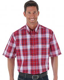 Wrangler Blue Ridge Plaid Shirt - Big & Tall