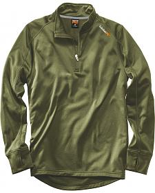 Timberland PRO Men's Green Understory Fleece Top