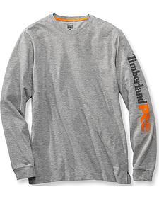 Timberland PRO Men's Base Plate Wicking Logo Long Sleeve T-Shirt