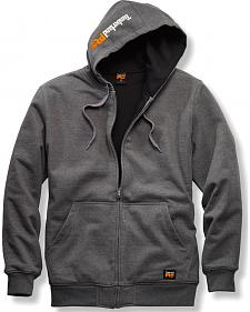 Timberland PRO Men's Grey Double-Duty Full-Zip Sweatshirt