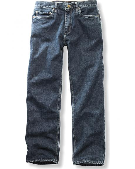Timberland PRO Men's Stonewash Grit-N-Grind Denim Work Pants