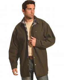 Forge Workwear Men's Moss Lined Shirt Jacket
