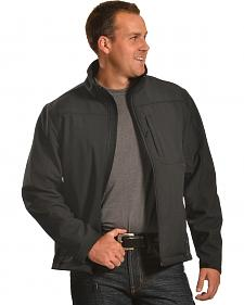 Forge Workwear Men's Black Lined Bonded Jacket