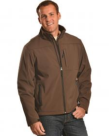 Forge Workwear Men's Chocolate Lined Bonded Jacket