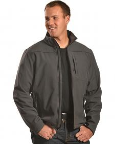 Forge Workwear Men's Grey Lined Bonded Jacket