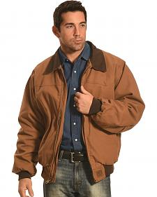 Forge Workwear Men's Brown Canvas Work Jacket