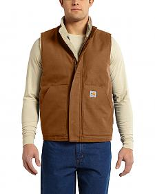 Carhartt Men's Flame Resistant Mock Neck Vest - Big & Tall